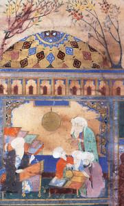 Nasir_al-Din_al-Tusi_at_observatory